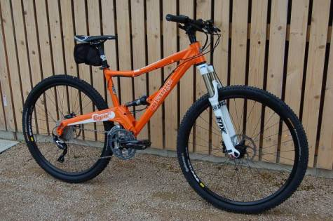 Full suspension Electric Bike