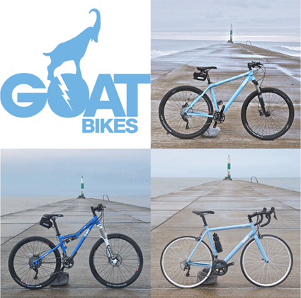 pictures of goat bikes